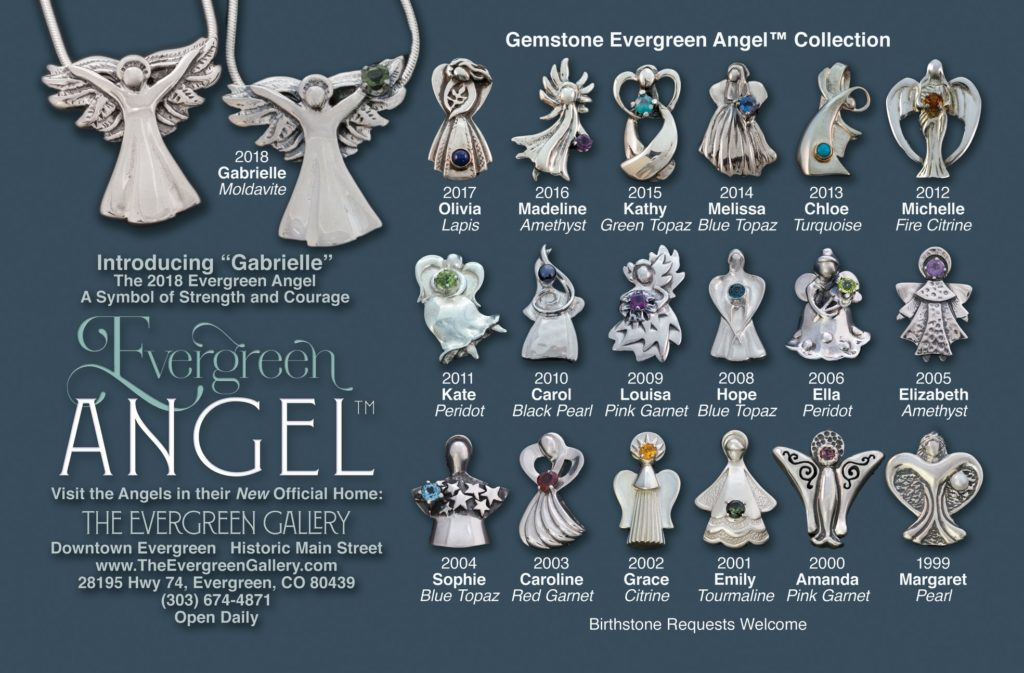 Evergreen Angel Gemstone Collection 2018