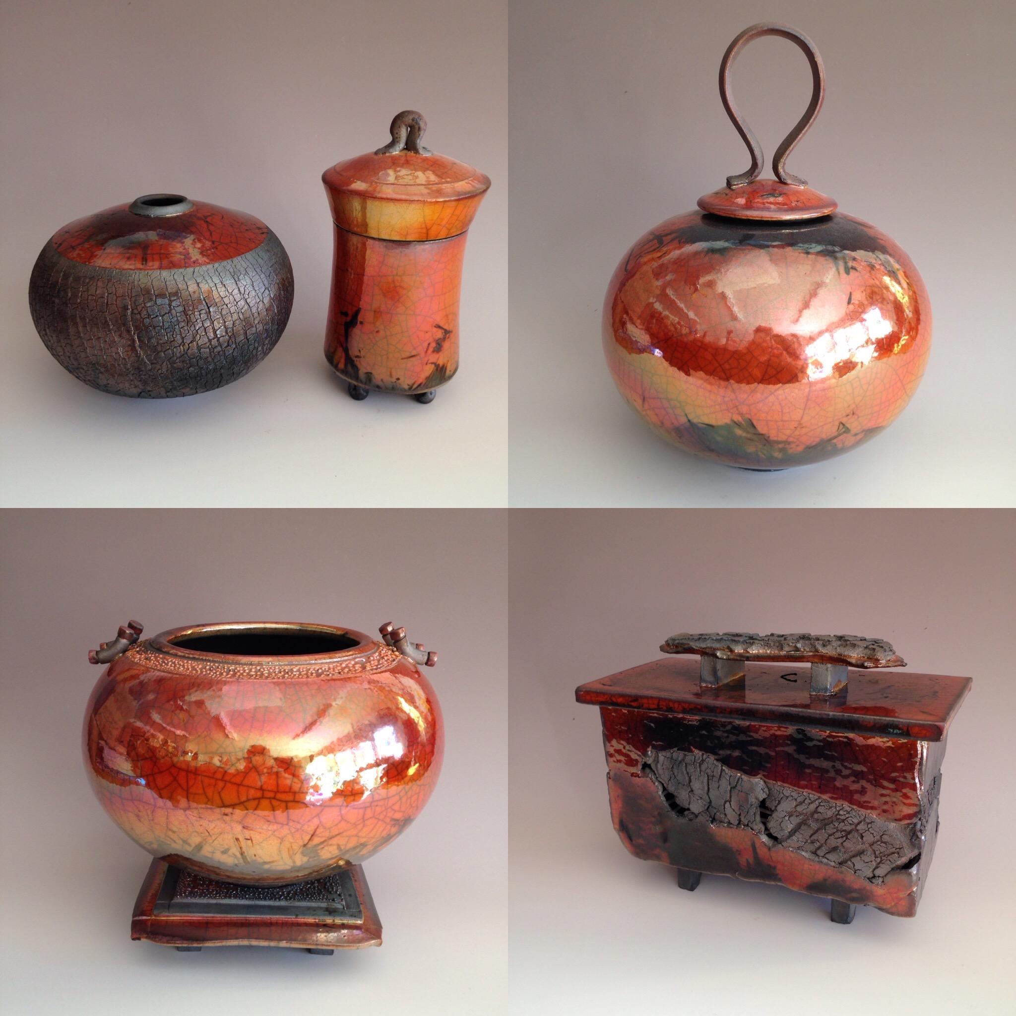 Bob Smith Raku Fine Art Pottery