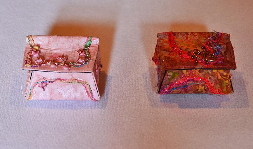 Fiber Boxes by Arlene Bitterer