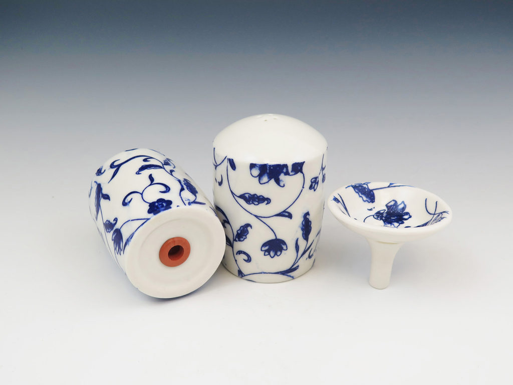 Salt and Pepper Shakers by Mandy Henebry