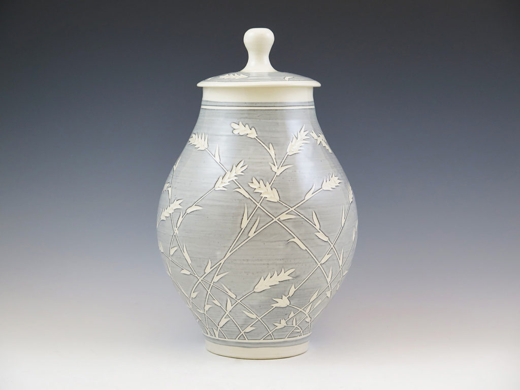 Lidded Vase by Mandy Henebry