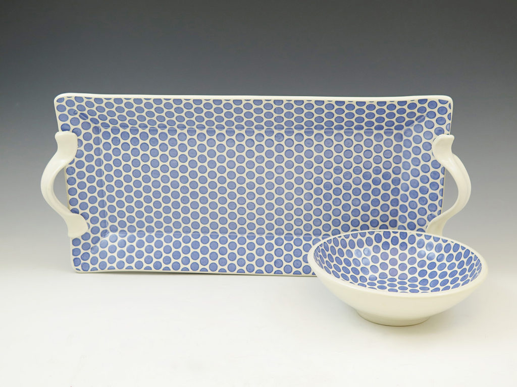 Serving set by Mandy Henebry