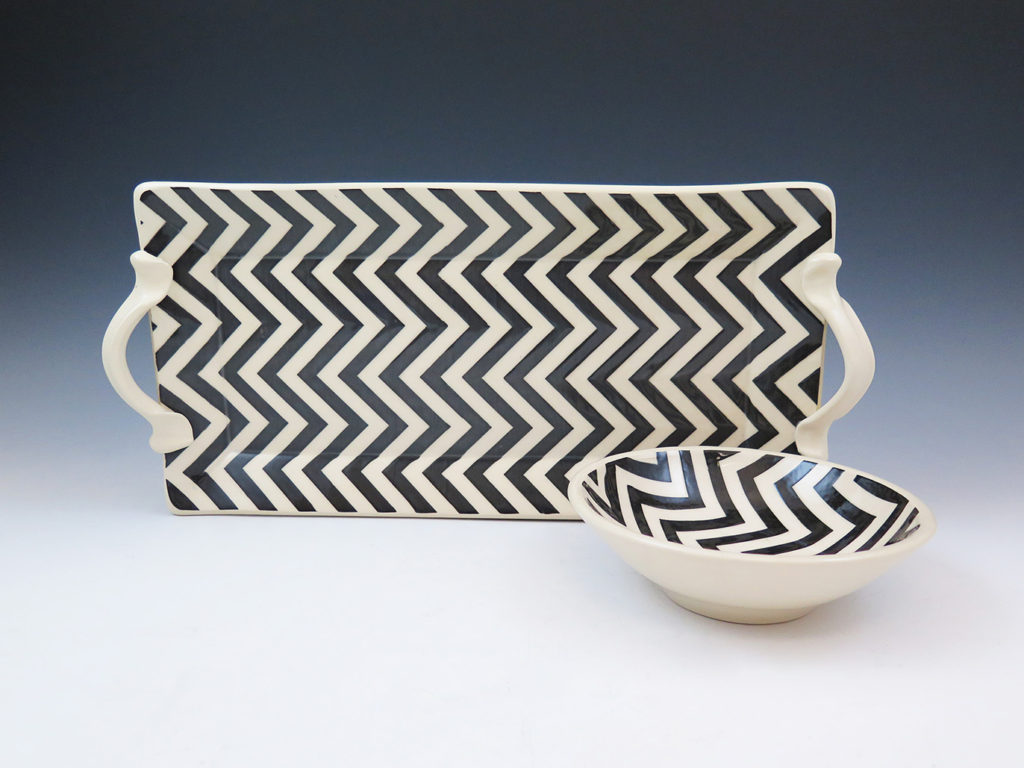 Patterned Pottery by Mandy Henebry