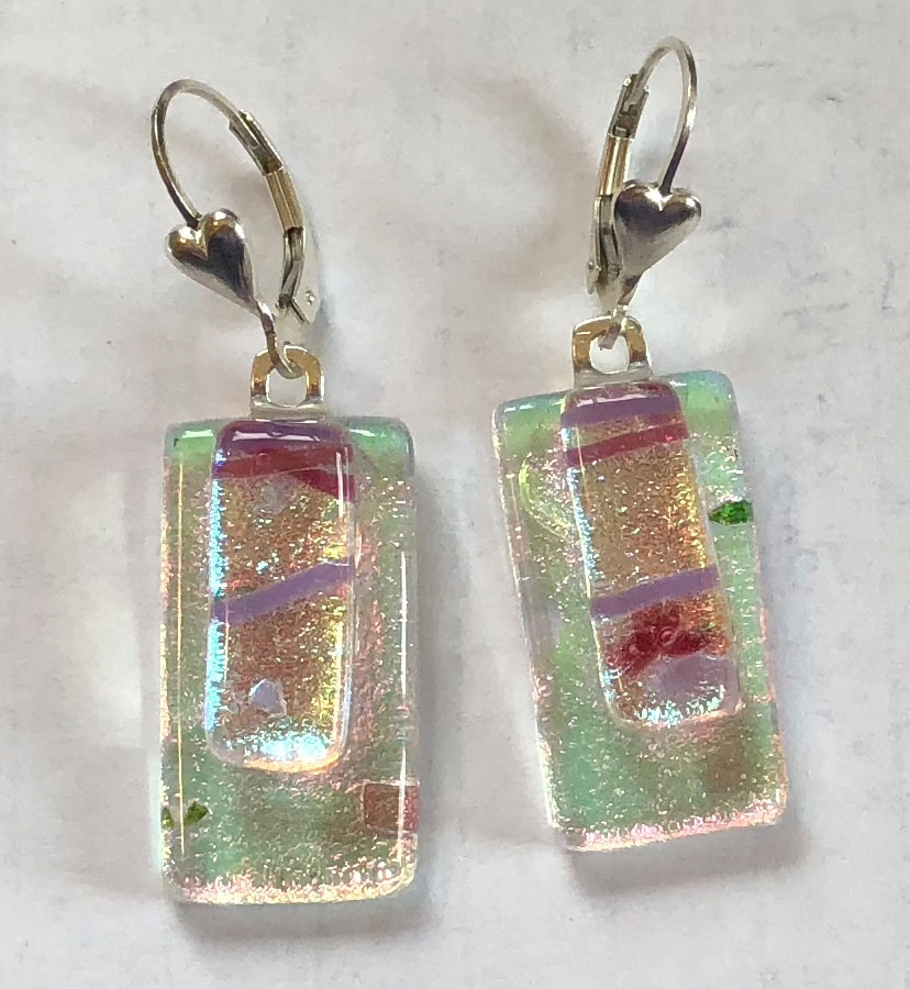 Fused Glass Jewelry by June Stewart