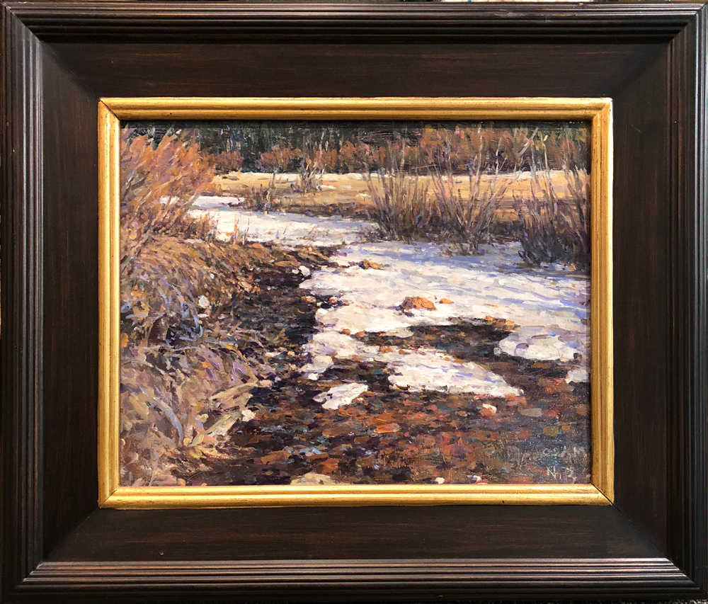 Upper Bear Creek Painting by Nikolo Balkanski