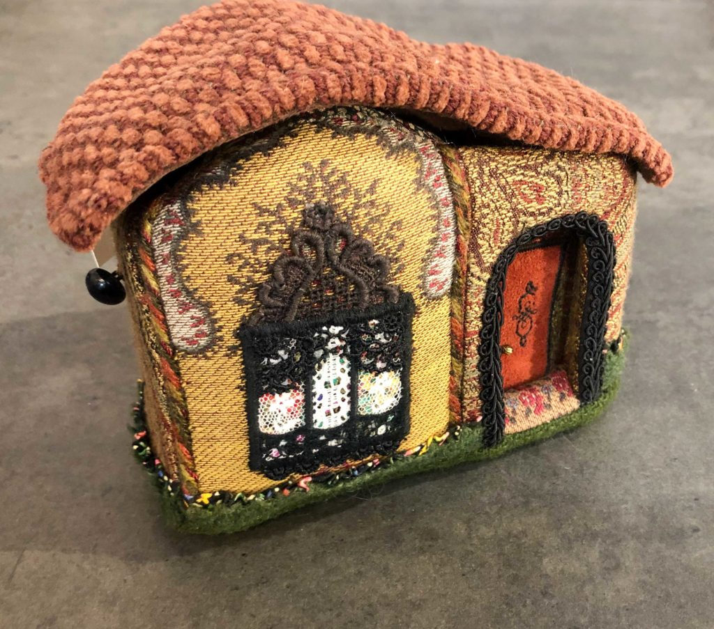 Fabric Treasure House Box by Mary Morine