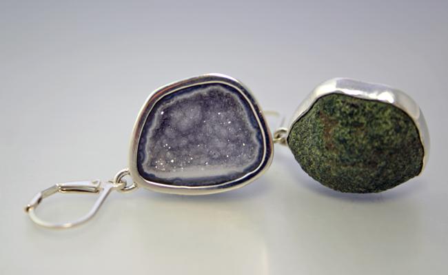 Geode Jewelry Design by Jocelyn Hunter