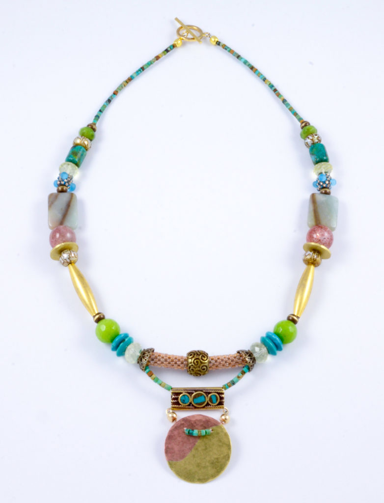 Necklace by Eliza B Lindsay
