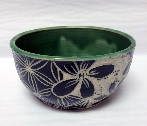 Sgraffito Bowl by Tanya Keith