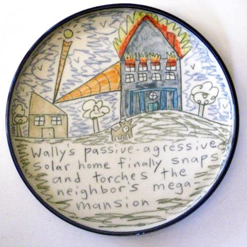 Pottery by Evergreen Artist, Tom Edwards
