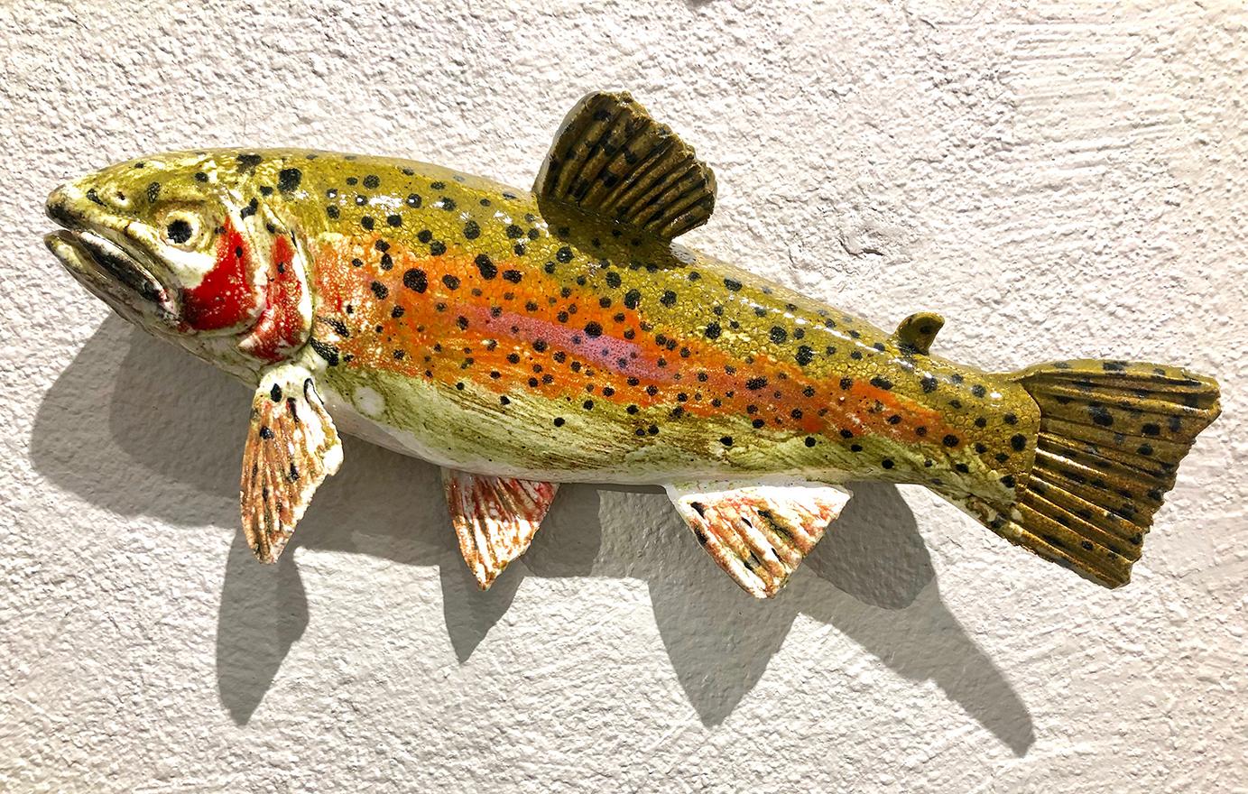 Ceramic Fish By Brigitte Egli