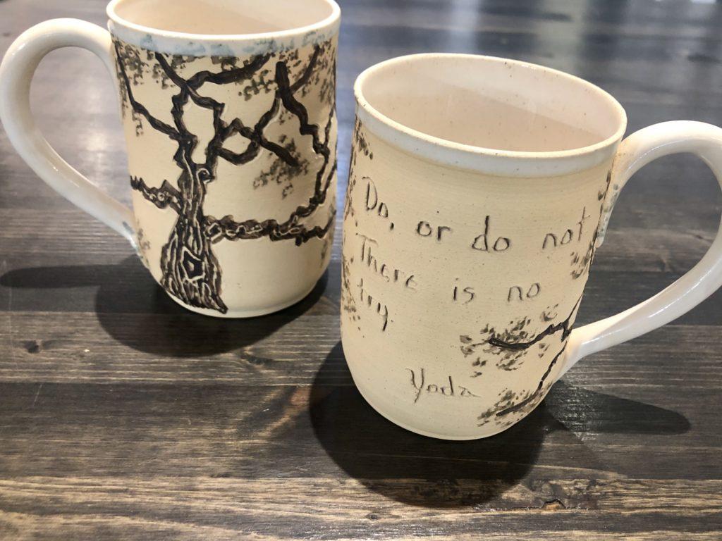 Etta Satter's handmade Quote Mug
