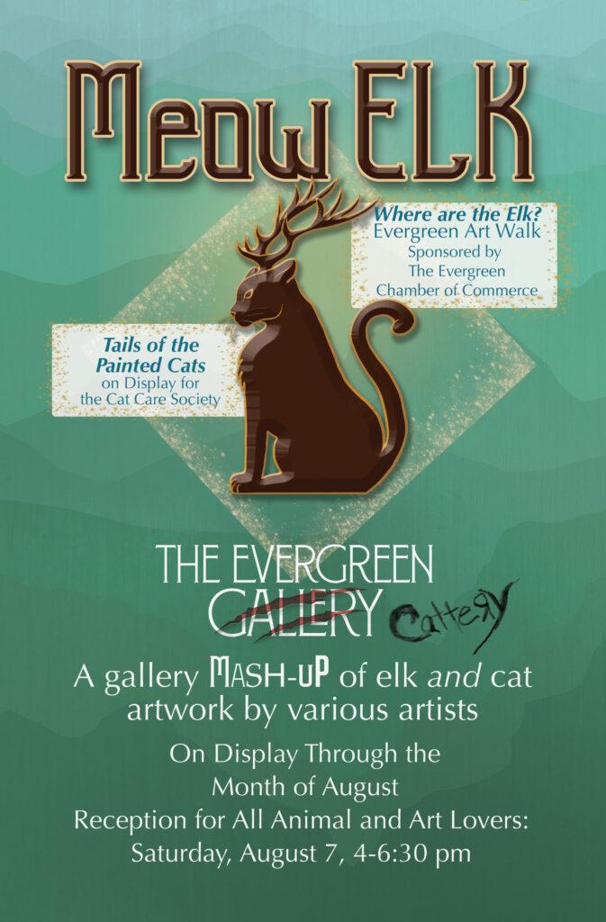 Meow Elk Postcard Image